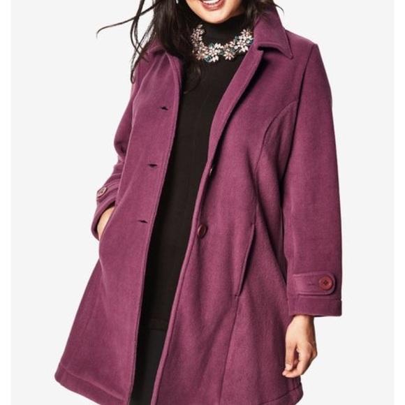 b2c9ad0aeb6 Roamans Plush fleece jacket NWT large size 18 20